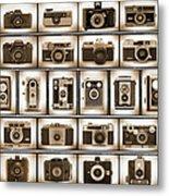 Film Camera Proofs Metal Print