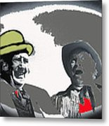 Film Homage Andy Devine  Chill Wills Old Tucson Arizona 1971-2009  Metal Print