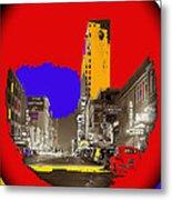 Film Homage Arthur Rothstein Theater Row  Majestic Melba  Palace Theaters Dallas Texas 1942-2008 Metal Print