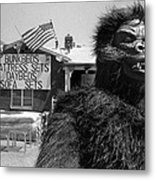 Film Homage Barbara Payton Bride Of The Gorilla 1951 Gorilla Mascot July 4th Mattress Sale 1991 Metal Print