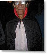 Film Homage Bela Lugosi Dracula 1931 Halloween Party Casa Grande Arizona 2005 Metal Print