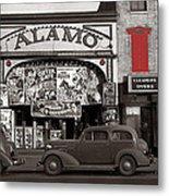 Film Homage Bela Lugosi Shadow Of Chinatown 1936 John Vachon Fsa Alamo Theater Washington D.c. 2010 Metal Print
