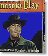 Film Homage Cameron Mitchell Minnesota Clay Lobby Card 1964-2013 Metal Print