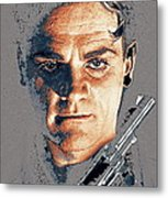 Film Homage Close-up James Cagney Angels With Dirty Faces 1939-2014 Metal Print