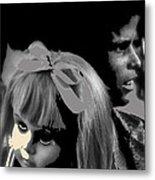 Film Homage Collage Brothers Quay Street Of Crocodiles Black Girl Doll Tucson Arizona 1970-2011 Metal Print