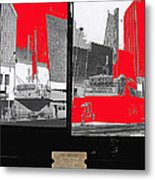 Film Homage Collage Fox Tucson Closed Last Bill  Original Ticket Stub 1984-1974-2012                 Metal Print