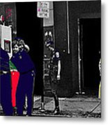 Film Homage Cool Hand Luke 1967 Paddy Wagon Porn Theater Pilgrim Theater Boston Ma 1977-2008 Metal Print