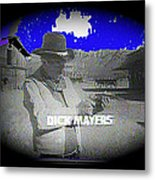 Film Homage Crime Does Not Pay Circa 1964 Dick Mayers Collage Screen Capture Circa 1964-2011 Metal Print