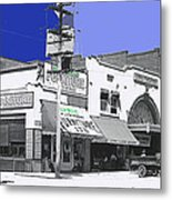 Film Homage Director Allan Dwan Soldiers Of Fortune 1919 Lyric Theater Tucson Arizona 1919-2008  Metal Print
