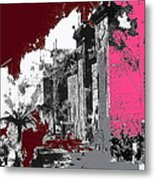 Film Homage D.w. Griffith Intolerance 1916 Fall Of Babylon 1916-2012  Metal Print by David Lee Guss