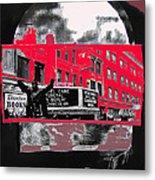 Film Homage Funeral In Berlin 1966 Orpheum Winter Carnival Parade Collage St. Paul Mn 1967-2008  Metal Print