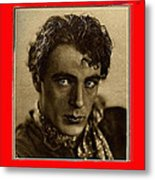 Film Homage Gary Cooper 1929-2009  Collage Color Added Metal Print