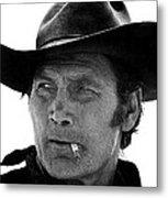 Film Homage Jack Palance Monte Walsh Set Old Tucson Arizona 1969 Metal Print