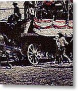 Film Homage James Cagney Yankee Doodle Dandy 1942  East Congress  Tucson Arizona C. 1890-2008       Metal Print