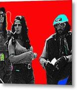 Film Homage Joe Namath C.c. And Company Golder Dam Near Tucson Arizona 1970-2009 Metal Print