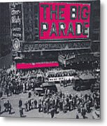 Film Homage John Gilbert King Vidor The Big Parade 1925 Color Added 2010 Metal Print