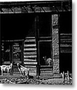 Film Homage King Vidor   Billy The Kid 1930 Wild Goats Ghost Town Billy The Kid Haunt White Oaks Nm  Metal Print