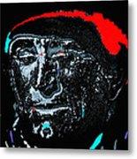 Film Homage Kirk Douglas And Vincent Minnelli Lust For Life 1956 Old Tucson Arizona 1971 Metal Print