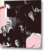 Film Homage Leslie Howard Bette Davis Of Human Bondage 1934 Publicity Photo 2008 Color Added Metal Print