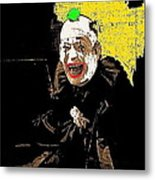 Film Homage Lon Chaney He Who Gets Slapped 1924 Color Added 2008 Metal Print