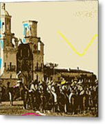 Film Homage Rouben Mamoulian  Ida Lupino  The Gay Desperado 1 1936 San Xavier Tucson Metal Print