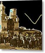 Film Homage Rouben Mamoulian  Ida Lupino  The Gay Desperado 2 1936 San Xavier Tucson Metal Print