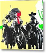 Film Homage The Gay Desperado 1936 Chris-pin Martin  Nino Martini Saguaro  Nat'l Monument Tucson Metal Print