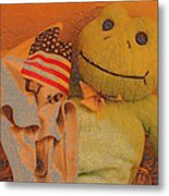 Film Homage The Muppet Movie 1979 Number 1 Froggie Colored Pencil American Flag Casa Grande Az 2004 Metal Print