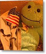Film Homage The Muppet Movie 1979  Number 2 Froggie Smudge Stick Casa Grande Az 2004-2009 Metal Print