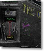 Film Homage The Quiet Man 1952 The Old Corner Saloon  Red Light District Tucson Arizona C.1880-2008  Metal Print