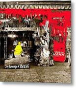 Film Homage The Revenge Of Tarzan Criterion Theater Washington Dc. 1920-2010 Metal Print
