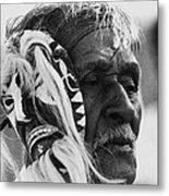 Film Homage The Yaqui 1916 Pascola Dancer New Pascua Arizona 1969-2008   Metal Print