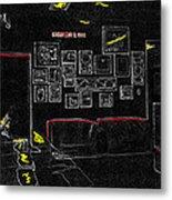 Film Homage Tora Tora Tora 1970 Uss Arizona Memorial U Of A 1985-2008 Metal Print
