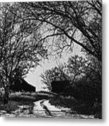 Film Noir Burt Lancaster Robert Siodmak The Killers 1946 Farm House Near Aberdeen Sd 1965 Metal Print