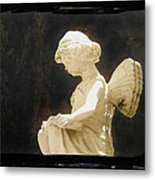 Film Noir Cinematographer Harry Wild Claire Trevor Johnny Angel 1945 Statue Arizona City Az 2005 Metal Print