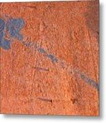 Film Noir Dennis Hopper Linda Manz Out Of The Blue 1980 Casa Grande Arizona 2004 Metal Print