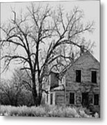 Film Noir Edward G. Robinson Julie London The Red House 1947 1 Farm House Aberdeen Sd 1964 Metal Print