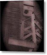 Film Noir Humphrey Bogart Lauren Bacall Dark Passage 1947 Elk's Club Aberdeen Sd 1966-2013 Metal Print
