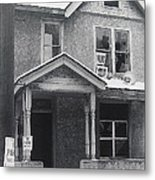 Film Noir Its A Wonderful Life 1947 Never Been Born Section Condemned House Minneapolis 1966 Metal Print