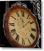 Film Noir Ray Milland Charles Laughton John Farrow The Big Clock 1948 Clock Casa Grande Arizona 2004 Metal Print