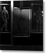 Film Noir Richard Widmark Night And The City 1950 2 Johnny Gibson Health And Gym Equipment Tucson Az Metal Print