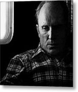 Film Noir Robert Duvall The Outfit 1973 Pursuit Of D.b. Cooper Set Trailer Tucson Arizona 1980-2008 Metal Print