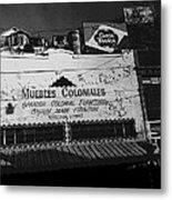 Film Noir Robert Mitchum Where Danger Lives 1950 1 Border Town Nogales Sonora Mexico Metal Print