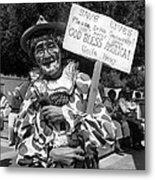Film Noir Robert Siodmak  George Sanders Strange Affair Of Uncle Harry Clown Tucson Arizona Metal Print
