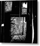 Film Noir Signe Hasso Lloyd Nolan House On 92nd Street 1945 Collage Antlers Hotel Victor Co 1971-'10 Metal Print