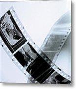 Film Strips Metal Print
