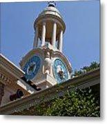 Filoli Garden Clock Tower Metal Print