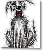 Filthy Fred Metal Print by Keith Mills