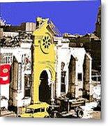 Final Days Of San Agustine Cathedral 1863-1936 Circus Poster Tucson Arizona 1936-2013 Metal Print