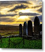Final Rest On The Isle Of Skye Metal Print by Mark E Tisdale